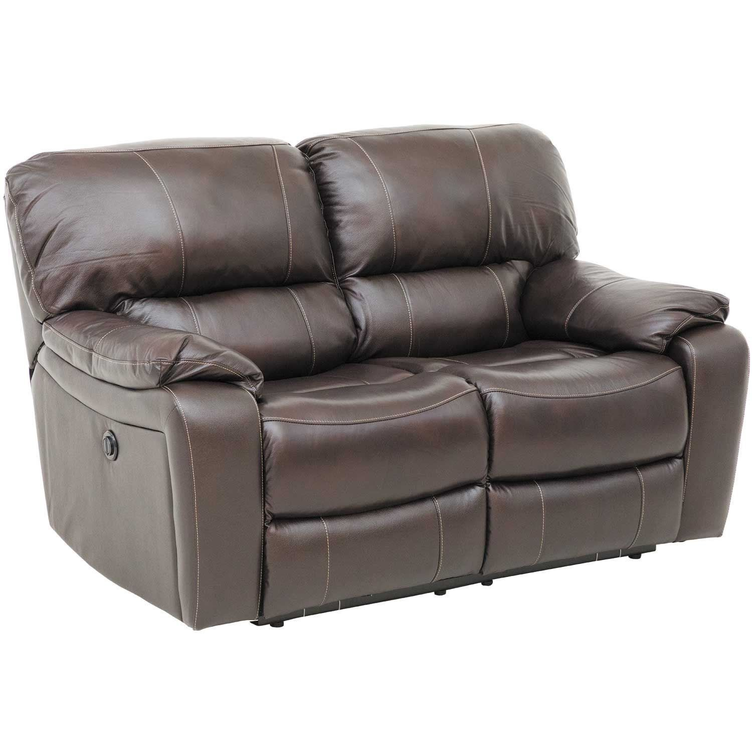 Leather Reclining Loveseat Picture Of Wade Brown Top Grain Leather Reclining Loveseat Leather Reclining Loveseat Leather Loveseat Power Reclining Loveseat