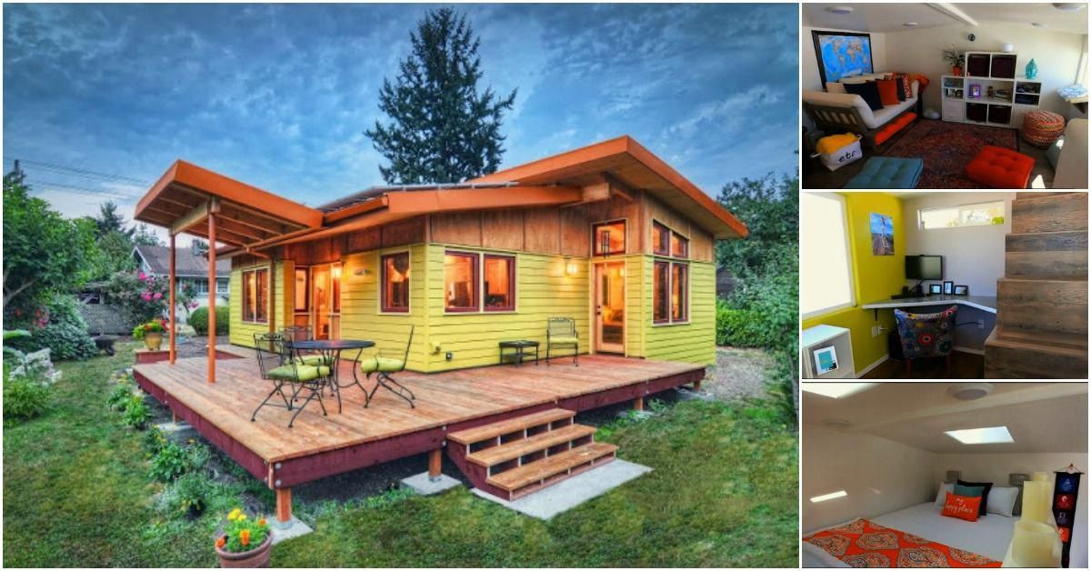 In Our Great Search For Tiny Homes We Came Across A Truly Luxurious Tiny House In Oregon Designed By Nir Pearlson Arc Tiny House Luxury Tiny Home Cost Tiny House