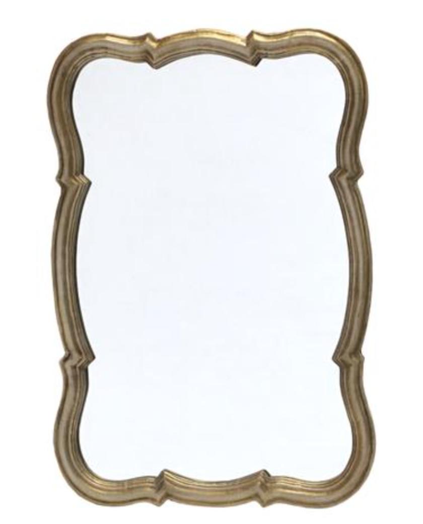 Scalloped Edge Wall Mirror – Allissias Attic & Vintage French Style