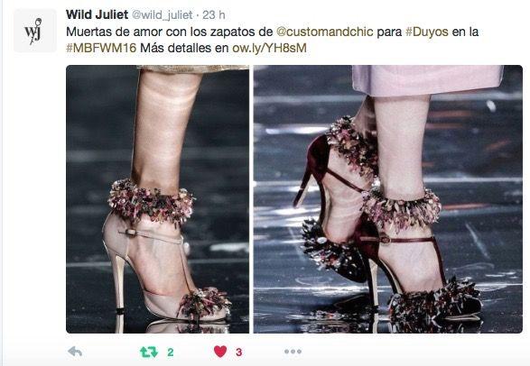 Muertas de amor con los zapatos de @customandchic para #Duyos vía @wildjuliet
