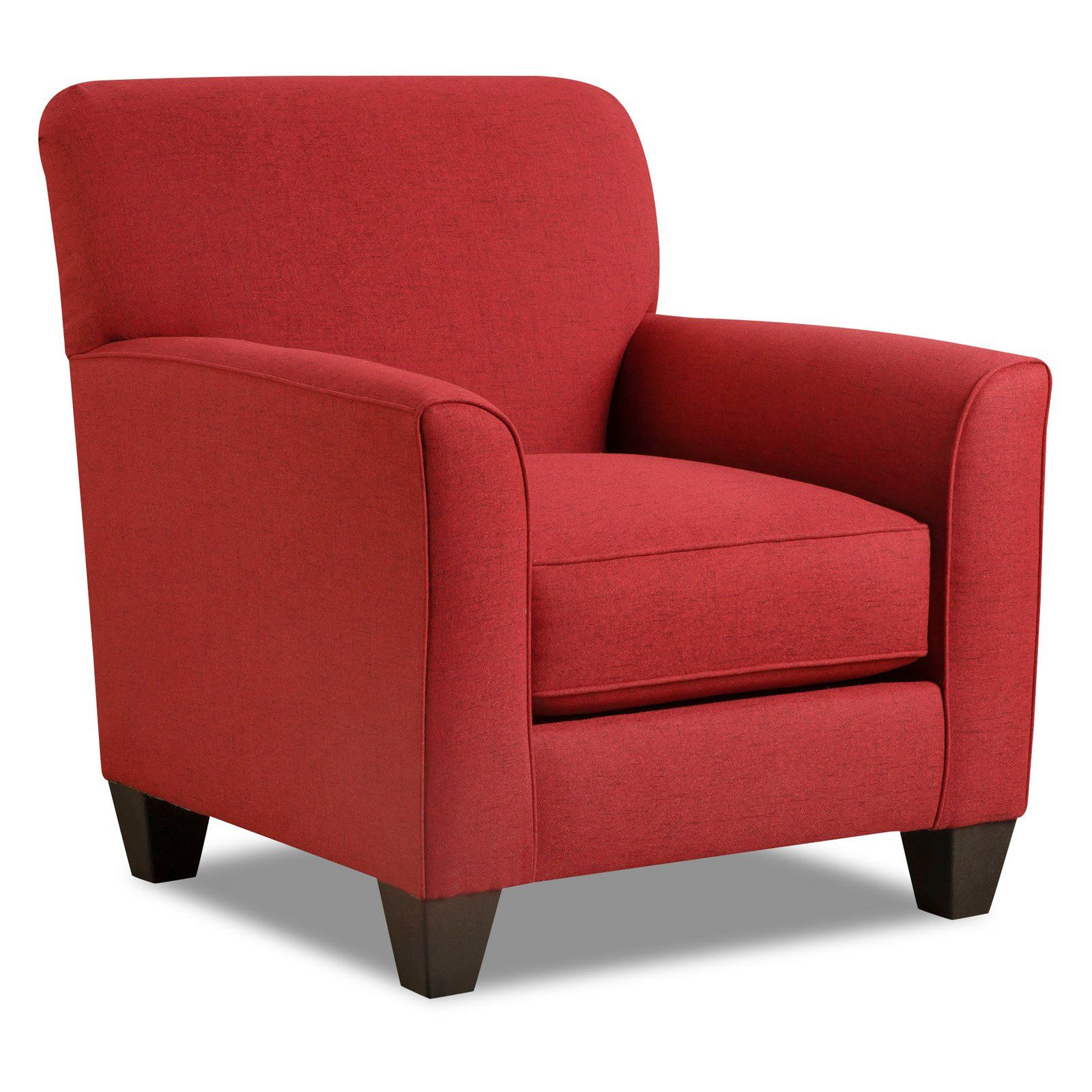 Oliver Pierce Bexley Club Chair Red in 2019 Accent
