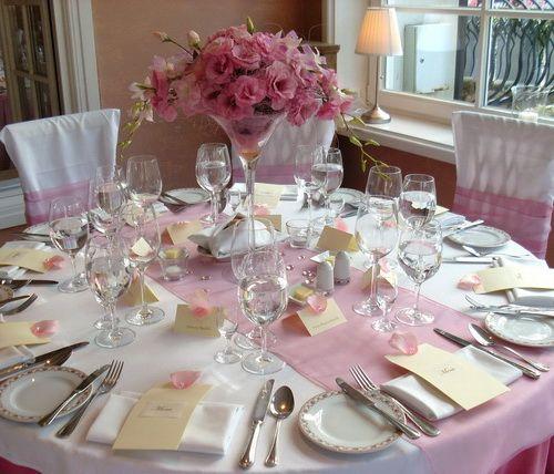 Vase martini fleur mariage recherche google mariage for Decoration vase martini