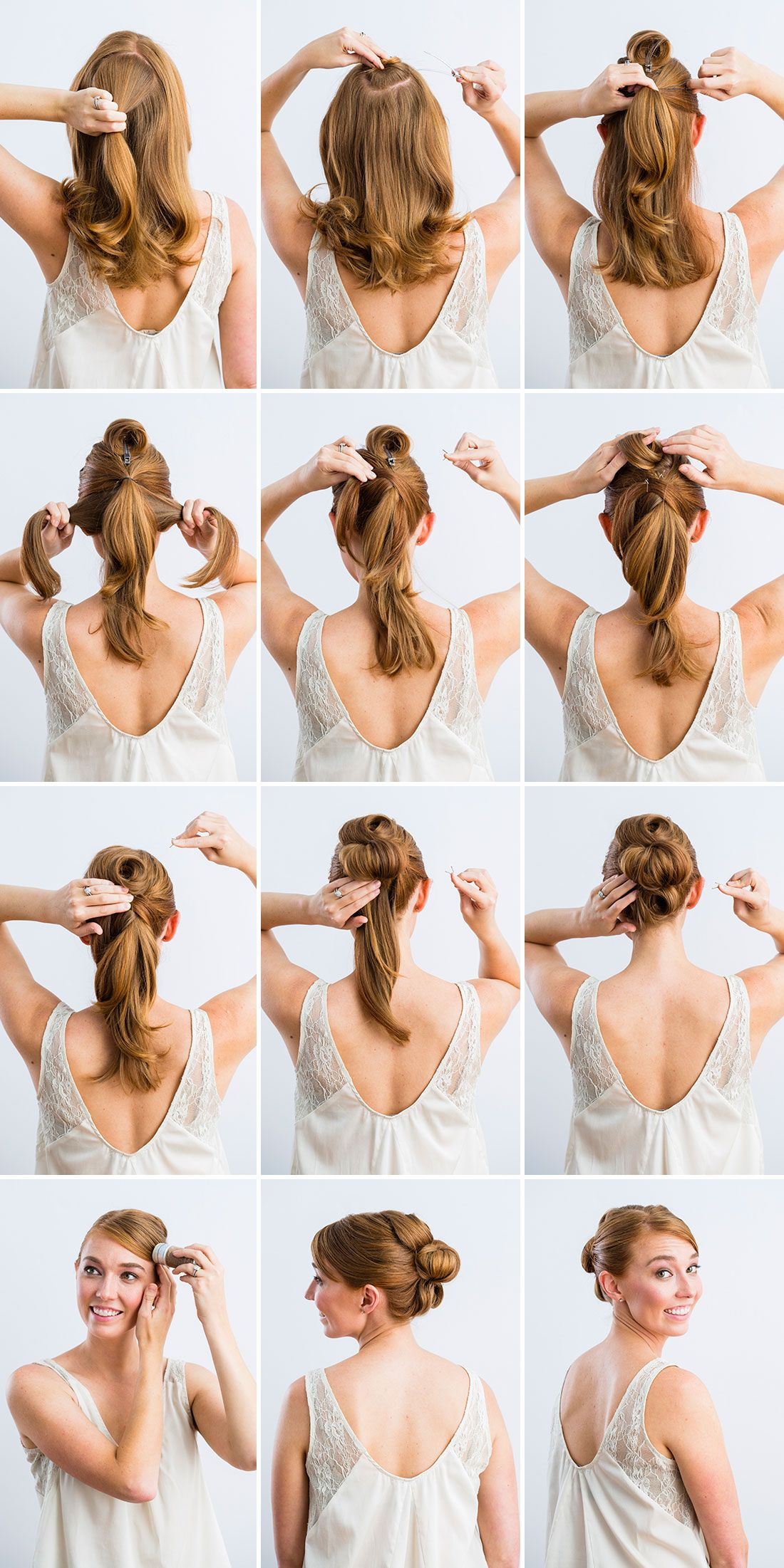 3 timeless bridal updos you can actually diy | beauty