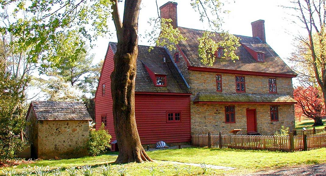 the william brinton 1704 house is an historic house museum located rh pinterest com Old World Houses Old Colonial Houses