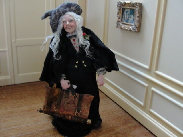 """Marcia Backstrom -""""The Traveling Witch"""" Artist Piece OOAK"""