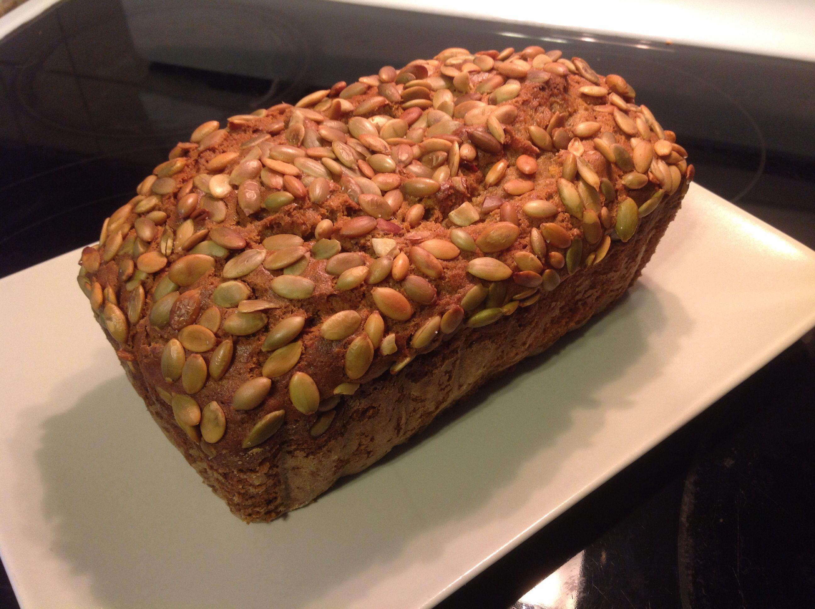 Homemade pumpkin loaf. Mmmmm ;) (This was amazingggggggg!)