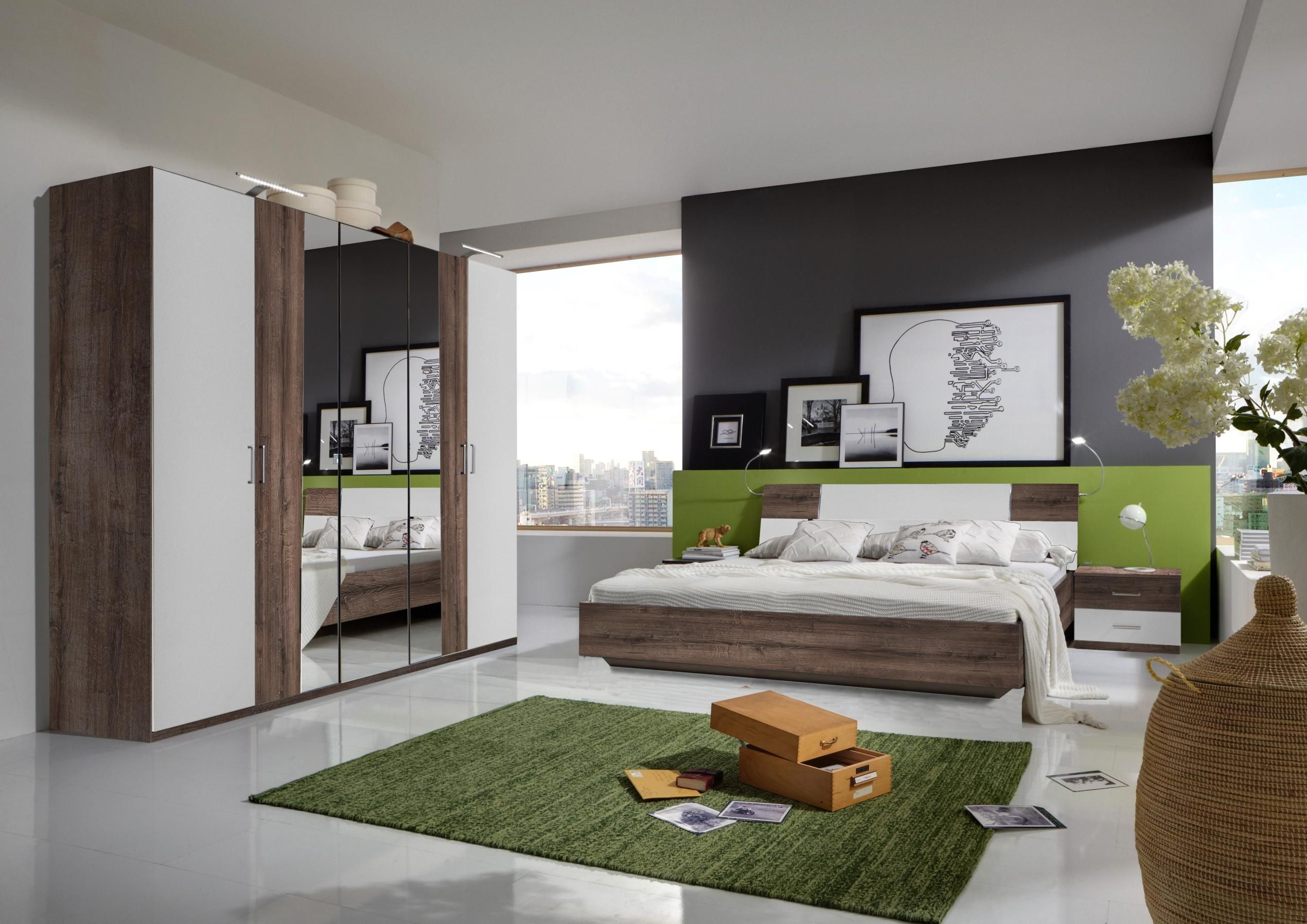 ihr schlafzimmer komplett in trendfarben zum tr umen schlafzimmer pinterest. Black Bedroom Furniture Sets. Home Design Ideas