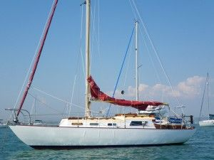 Teasel Is A Classic Long Keel Traditional Wooden Sailing Yacht