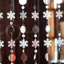Doprava zadarmo / Vianočné dekorácie vločka šumivé flitre laser opona / stage pozadí festival strana (Čína (pevninská časť))