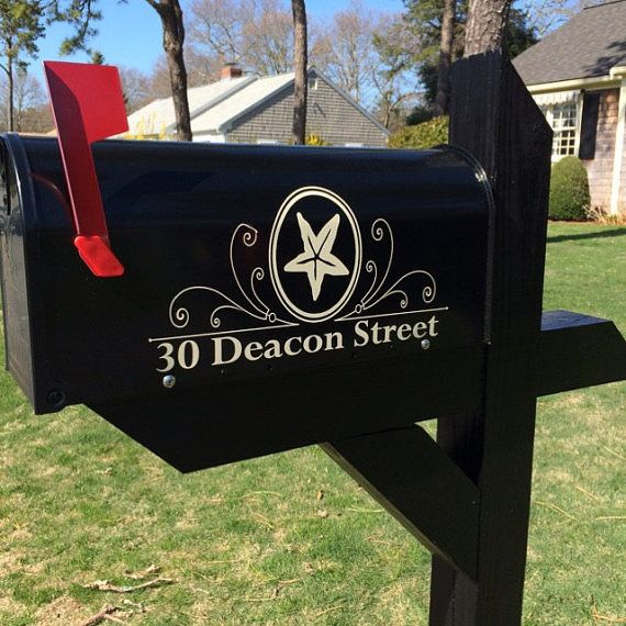 Custom Anchor Mailbox Decals Decal For Mailbox Decal For Door