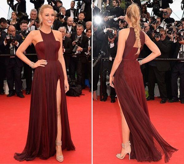 blake-lively-cannes-2014-vestido-gucci-bordeau-01 | DRESSES ...