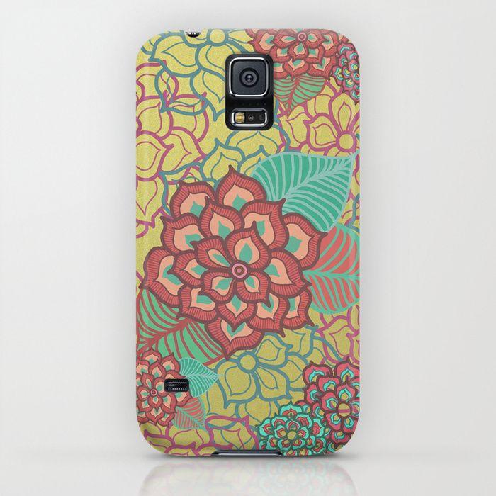 Floral Glitz Samsung Galaxy S5 Case by Lisa Argyropoulos