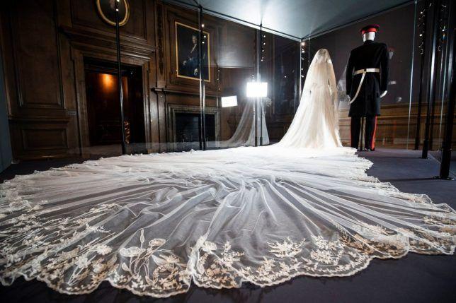 Meghan Markle S Wedding Dress Goes On Display To The Public From Today Meghan Markle Wedding Dress Wedding Dresses Royal Wedding Gowns