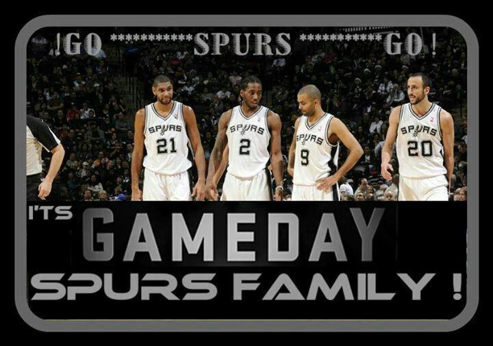 San Antonio Spurs GAMEDAY. GO SPURS GO