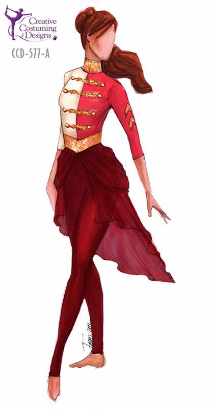 Creative Costuming Designs Color Guard Costumes Creative Costuming Designs Color Guard Uniforms