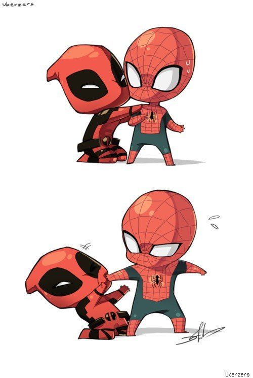 Suddenly im really into spider man and spent a whole weekend reading comics oh god i like when deadpool is around too spider man and deadpool