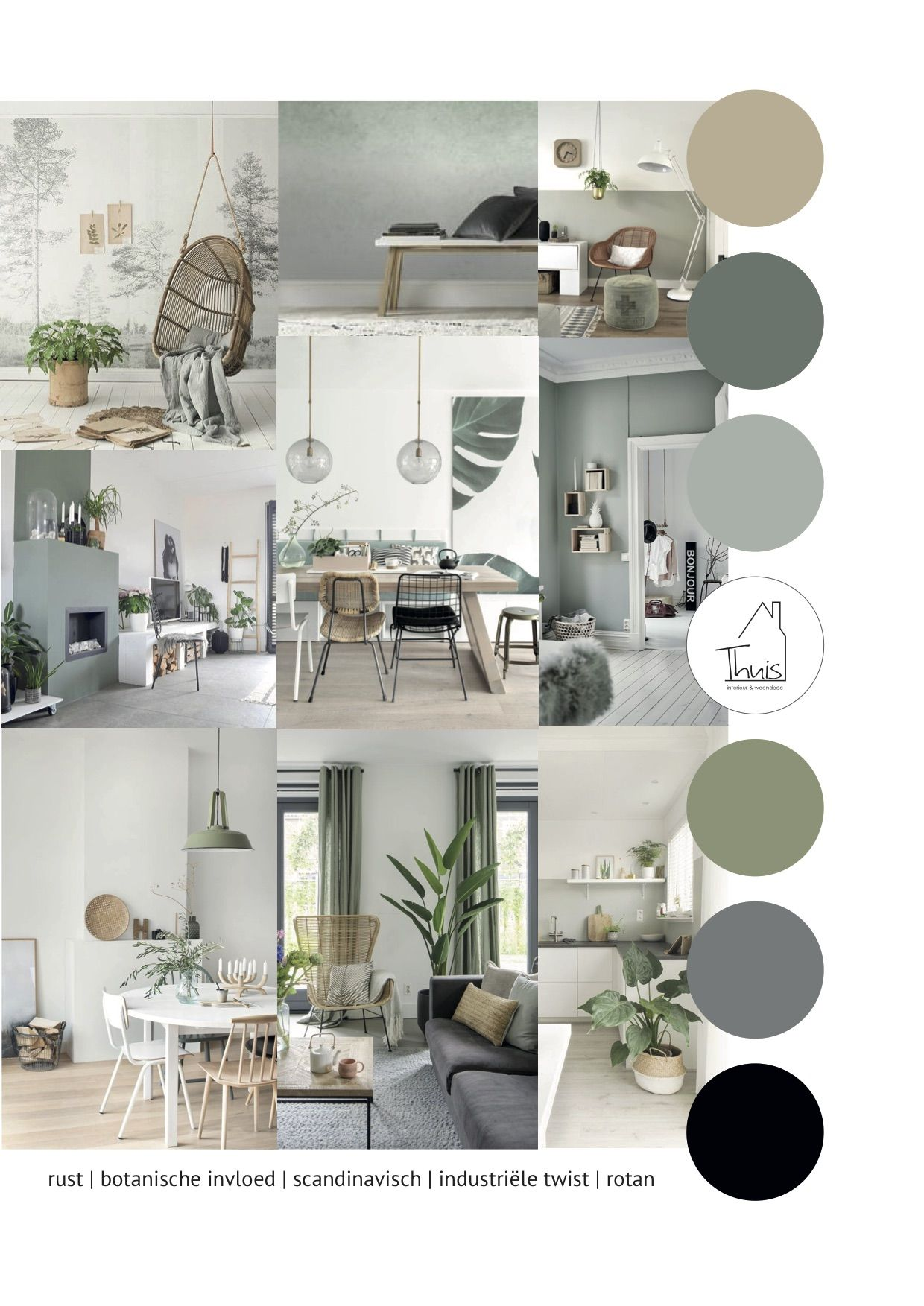 Portfolio 12 Stoere woonkamer - THUIS interieur & woondeco #woonkamerinspiratie