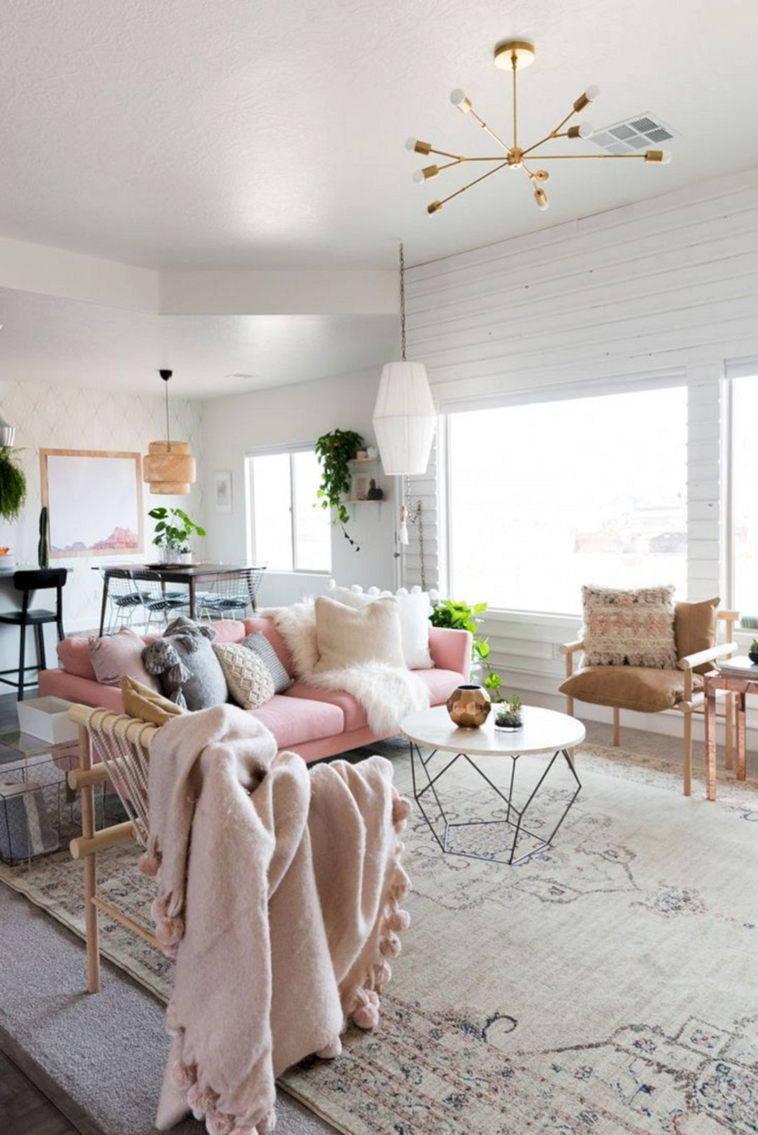 Majestic 55 Chic Living Room Decorating Design