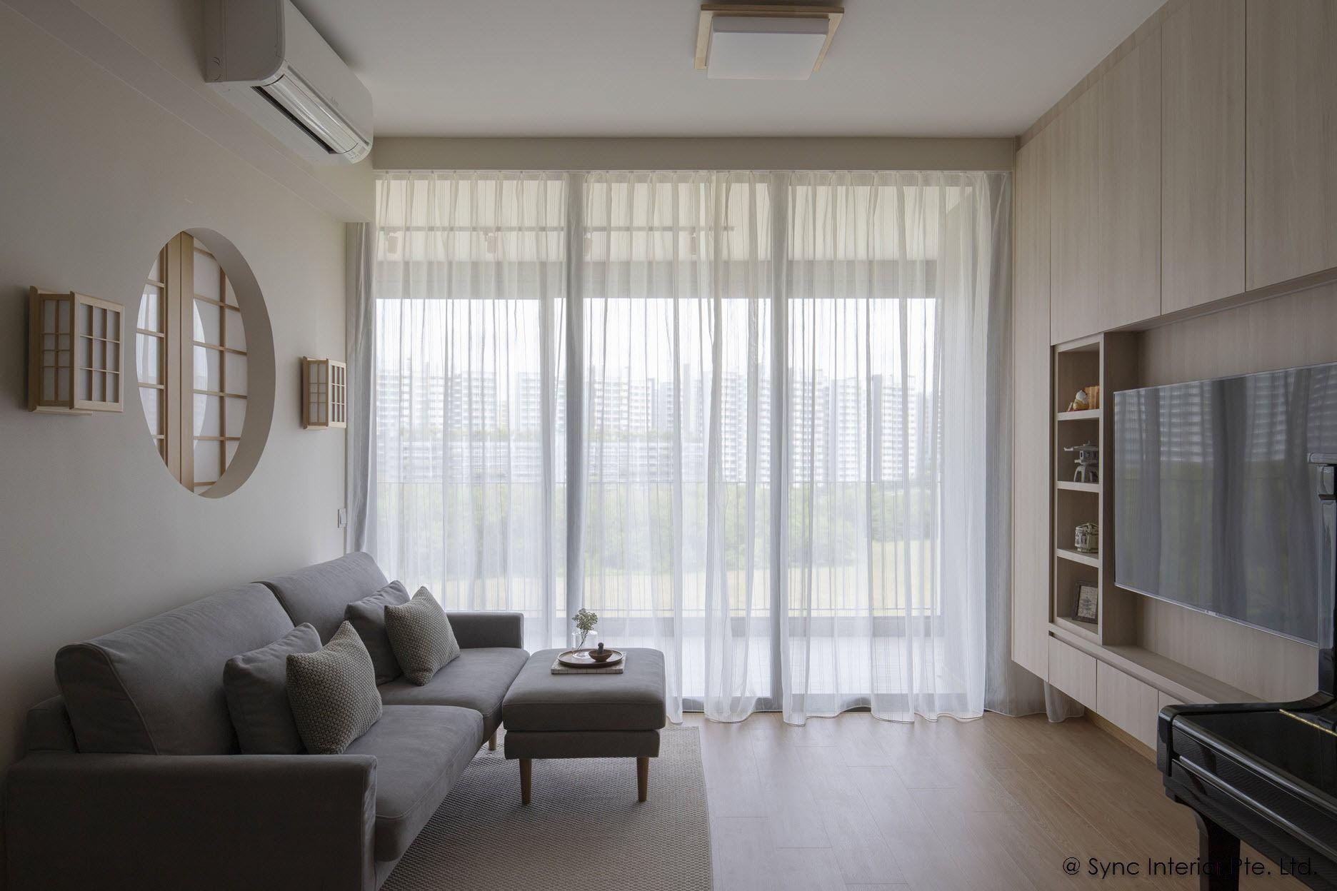 Japanese Concept Singapore Home Interior Syncinterior Interior
