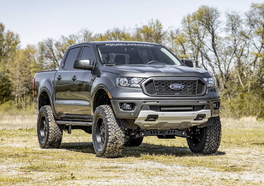 Mid Sized Masterpiece Check Out The New Rough Country 6inch Lift And 20inch Led Bumper Kit For 2019 2020 Ford Ford Ranger Custom Ford Ranger Ford Ranger Truck