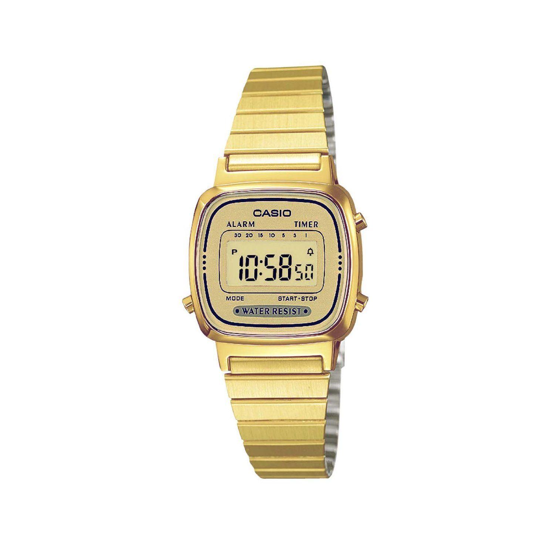 CASIO La670Wega 9Ef Reloj de mujer de cuarzo, correa de