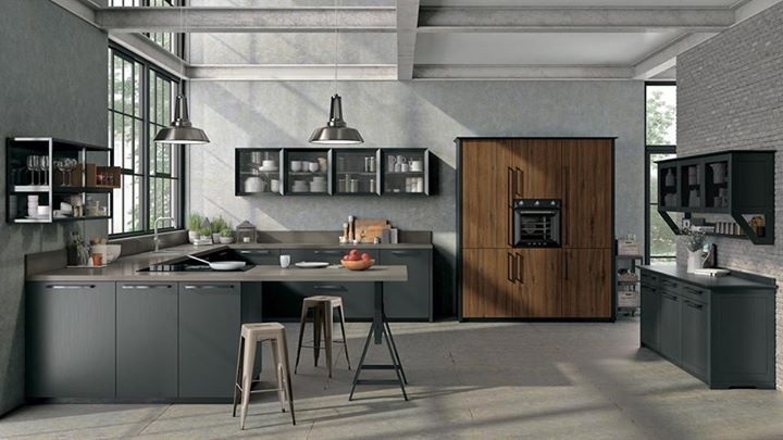 Sempre più di tendenza lo stile industrial in cucina dona ...