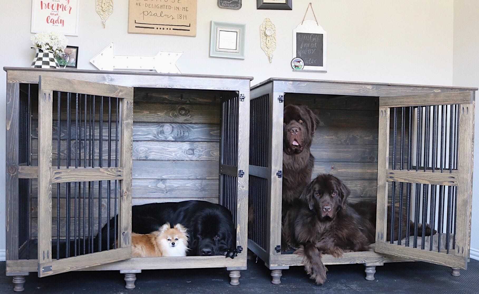 Kennels For Critters Of All Sizes From Newfoundlands To Poms
