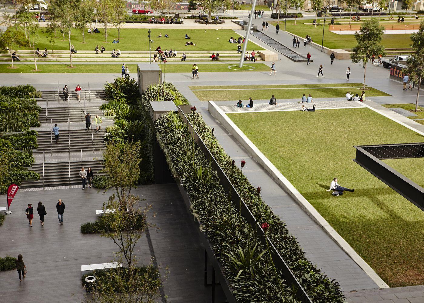 Gallery Of Central Park Public Domain Turf Design Studio 2 Urban Design Architecture Urban Design Concept Landscape Plaza