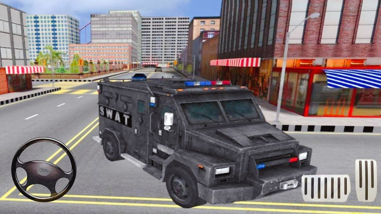 Police Car Driving Criminal Chase Android Gameplay