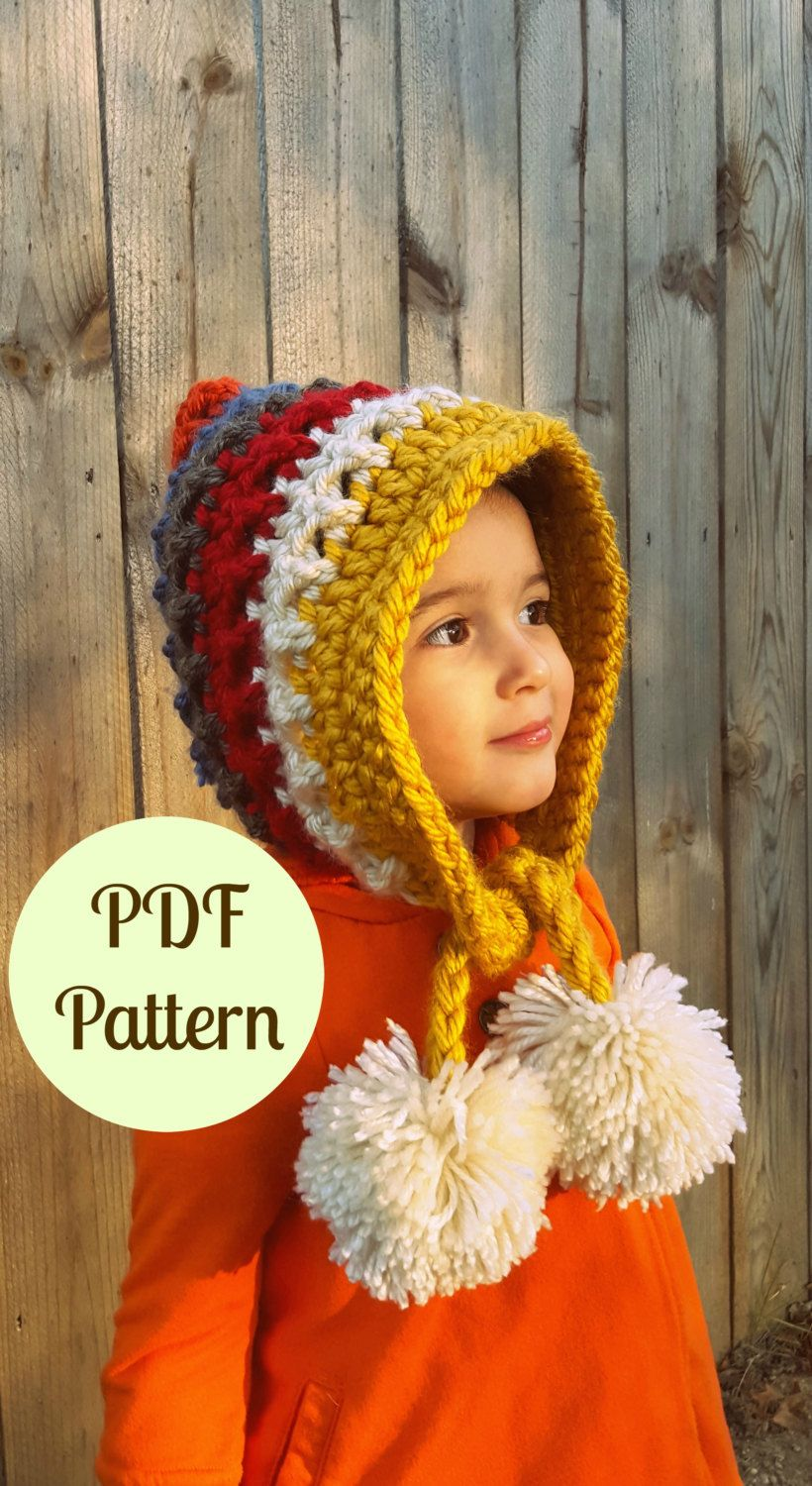 PDF Crochet Pattern, Instant Download Pattern, Pixie Hat, Gnome Hat ...