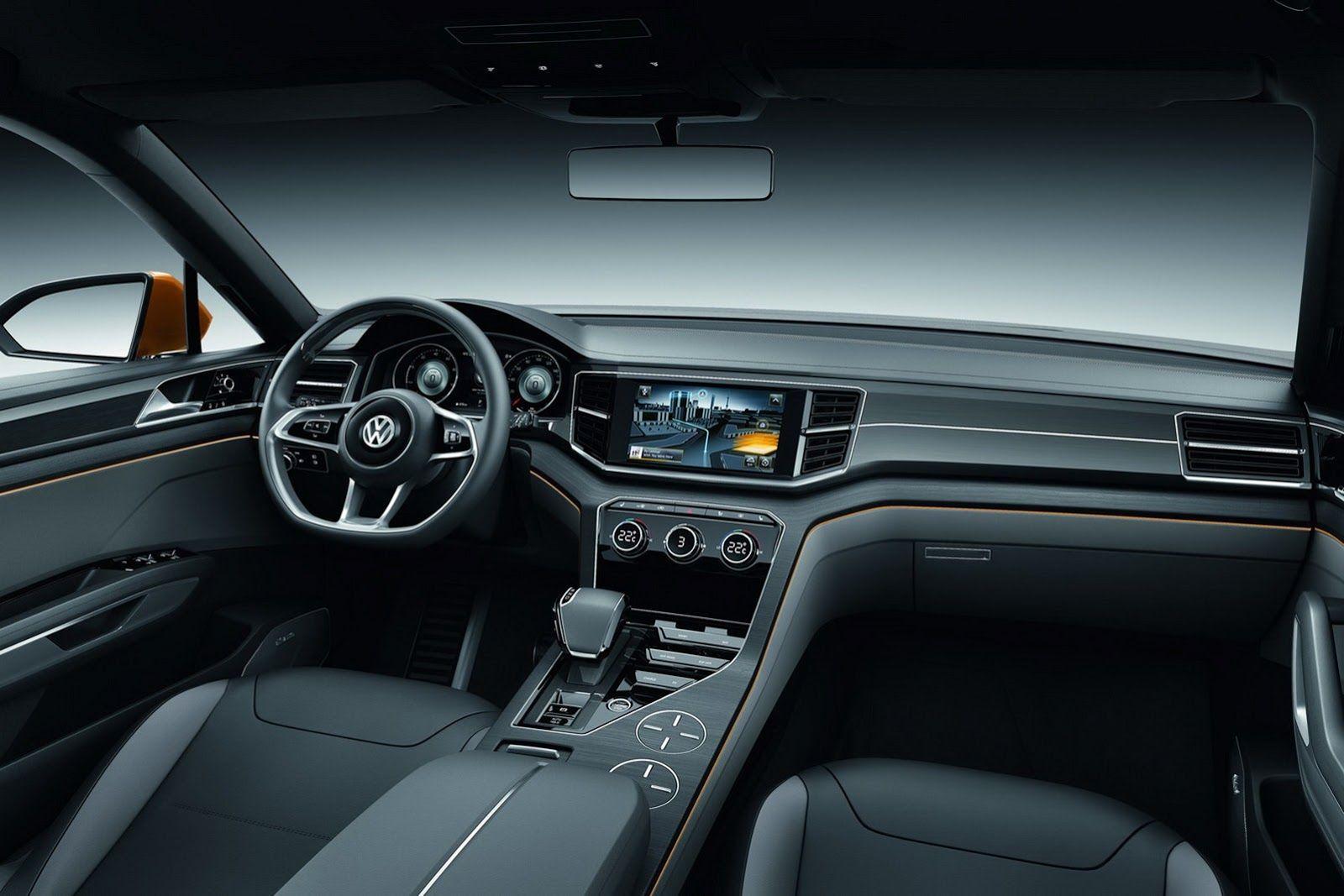 Hibrit Motorlu 2013 Volkswagen Cross Blue Coupe Konsept Şanghay'de Sergileniyor | Turkeycarblog