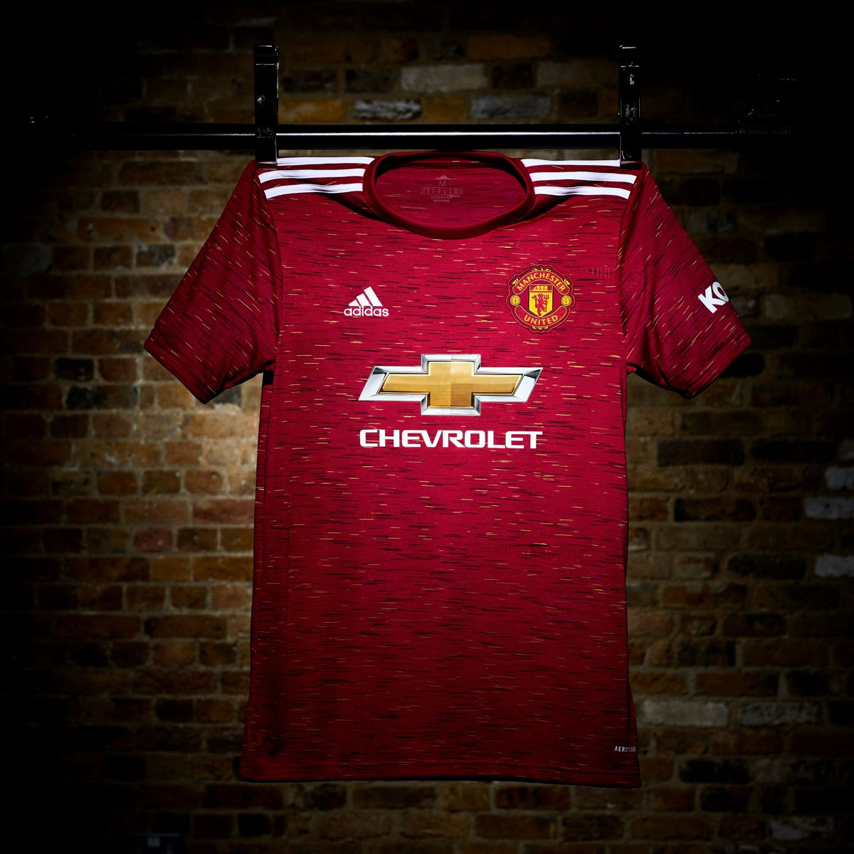 Manchester United 2020 21 Home Kit Em 2020
