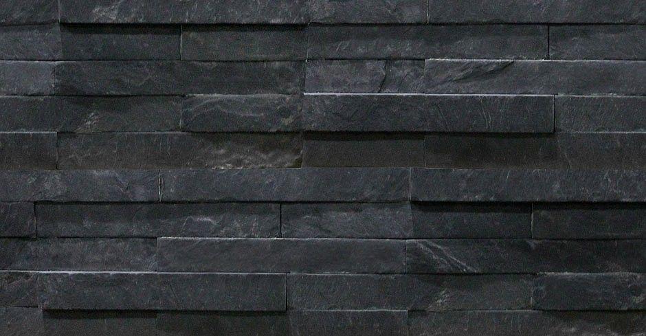 Black Slate Split Face Mosaic Tiles 600x150 - Slate ...