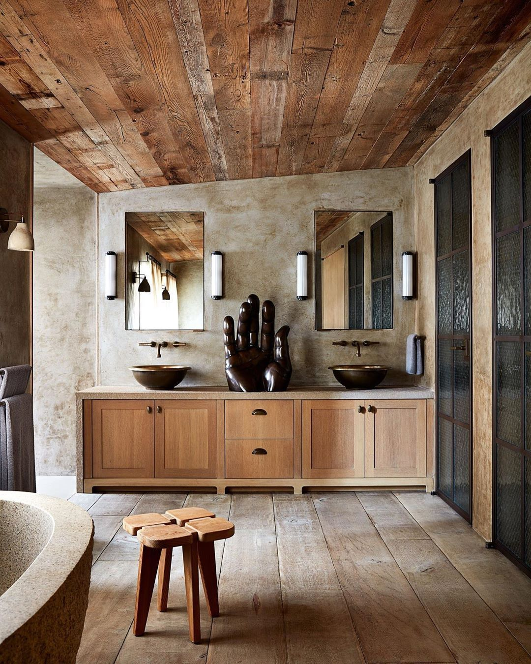 1960s Home Remodel Disc Interiors On Instagram Nyc Master Bathroom In Architectural Digest By Ryan Murphy And In 2020 Disc Interiors Home Remodeling Cheap Home Decor