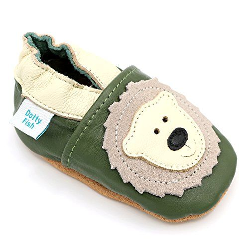 Boy Girl Shoes Soft Sole Leather Baby Toddler Children Trainer White 12-18M