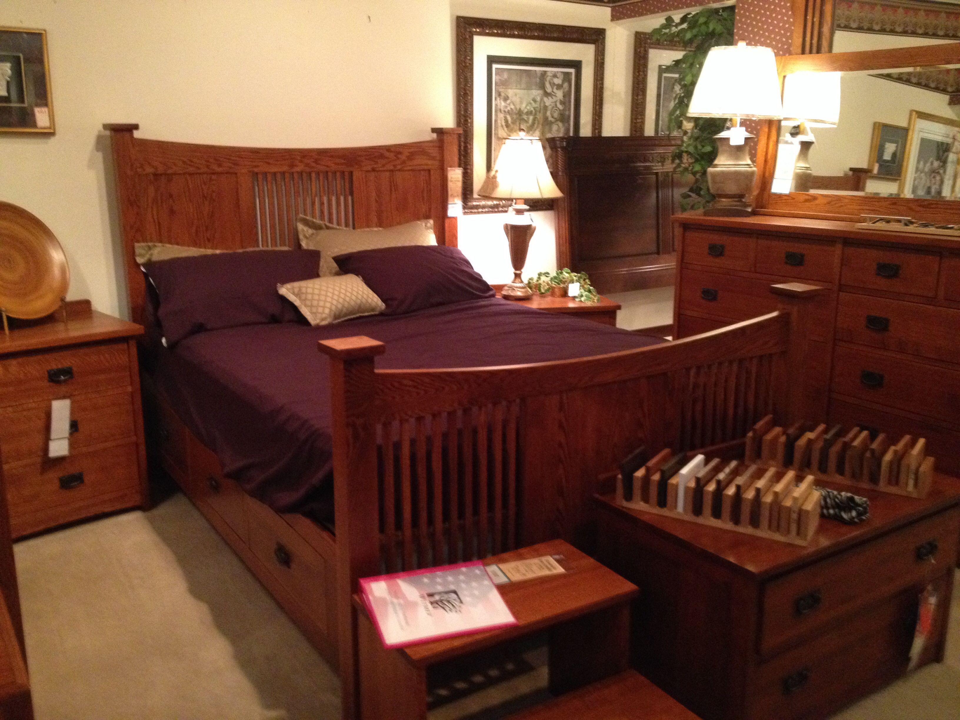 Mission Bedroom Set Hendricks Home Furnishings