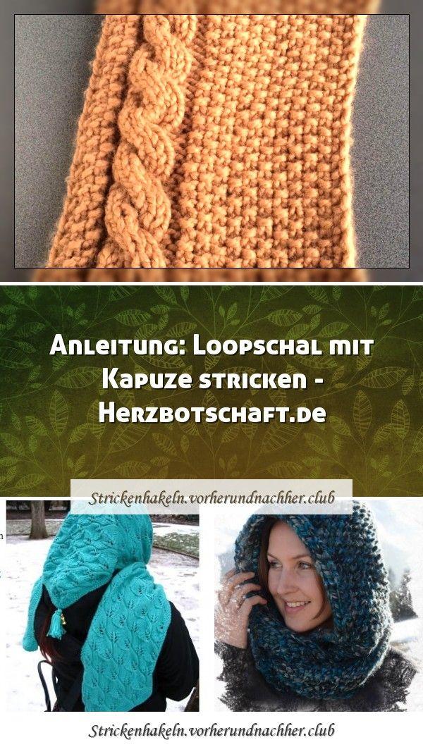 Photo of Kapuzenschal – Strickideen Die Idee für einen solchen Schal kam nicht von …