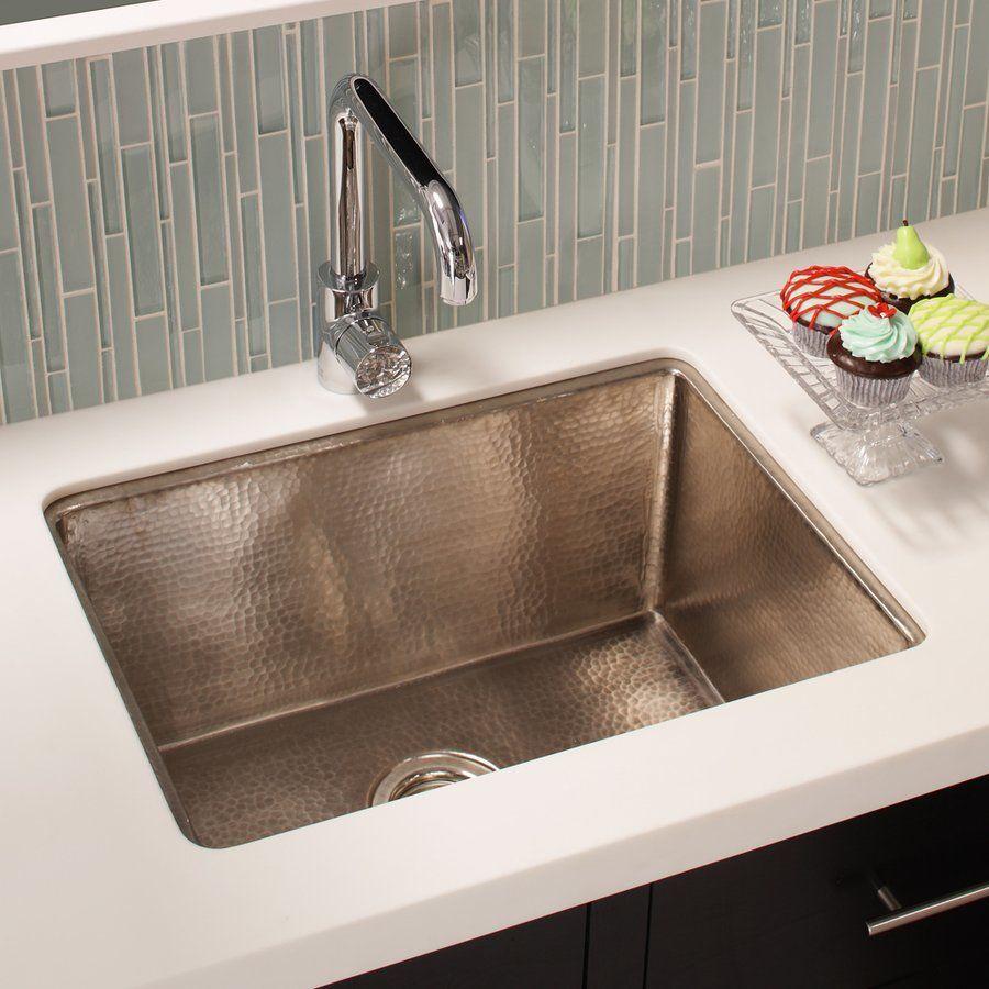 Native Trails 24 X 18 Cocina Undermount Kitchen Sink Brushed Nickel Cpk579 Undermount Kitchen Sinks Farmhouse Sink Kitchen Kitchen Sink Remodel