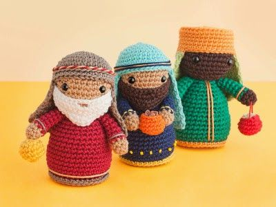 Free Amigurumi Nativity Pattern : Wise kings amigurumi free amigurumi patterns amigurumi