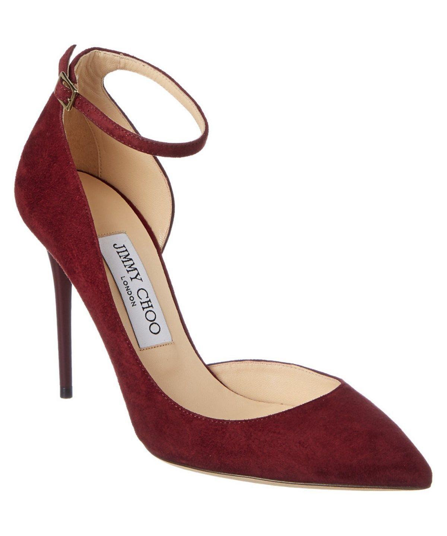 49510accc2d JIMMY CHOO JIMMY CHOO LUCY 100 SUEDE POINTY TOE PUMP .  jimmychoo  shoes   pumps   high heels
