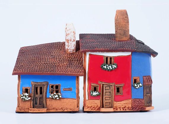 ceramic incense burners miniature houses in prague czech republic rh pinterest com