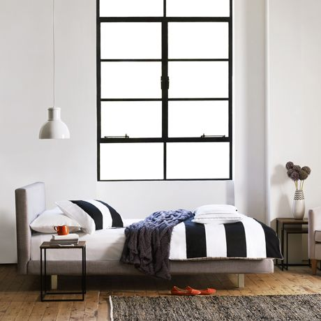 Our New Bed Frame Helsinki Queen Bed Arena Cement