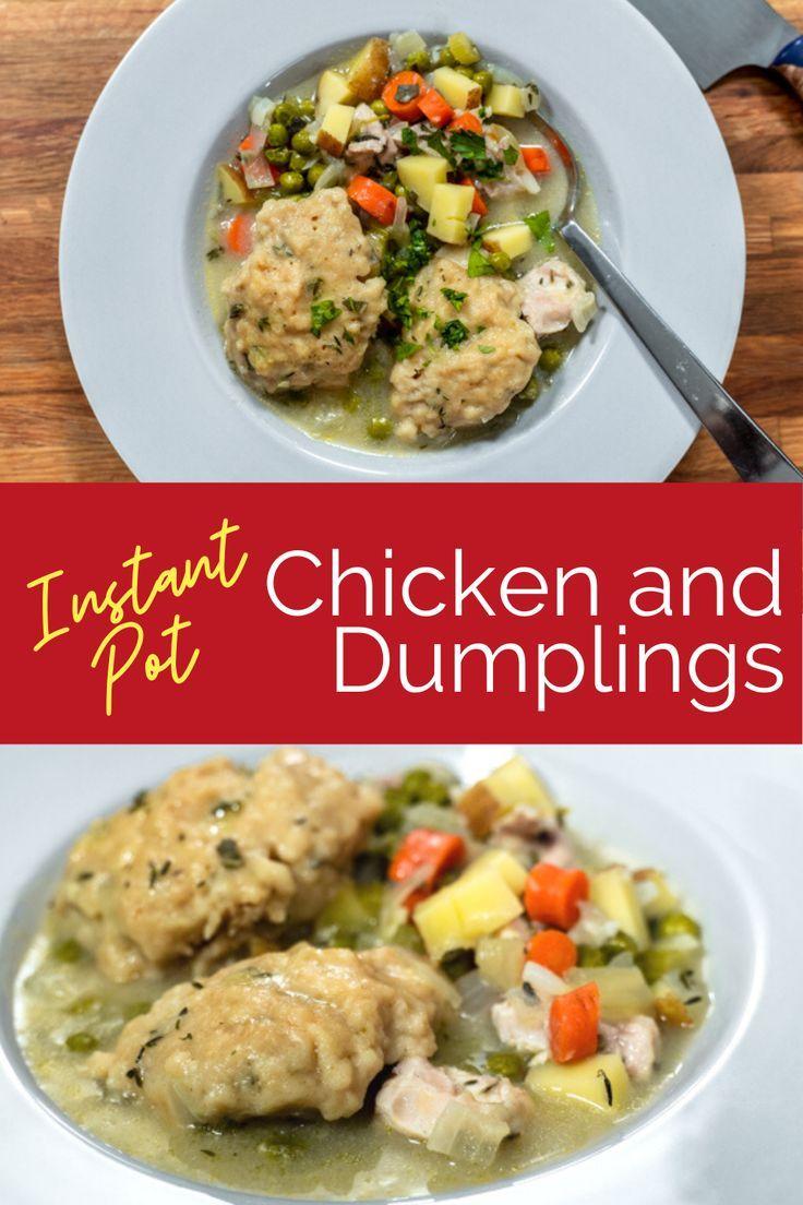 Instant pot chicken and dumplings chef abbie gellman ms