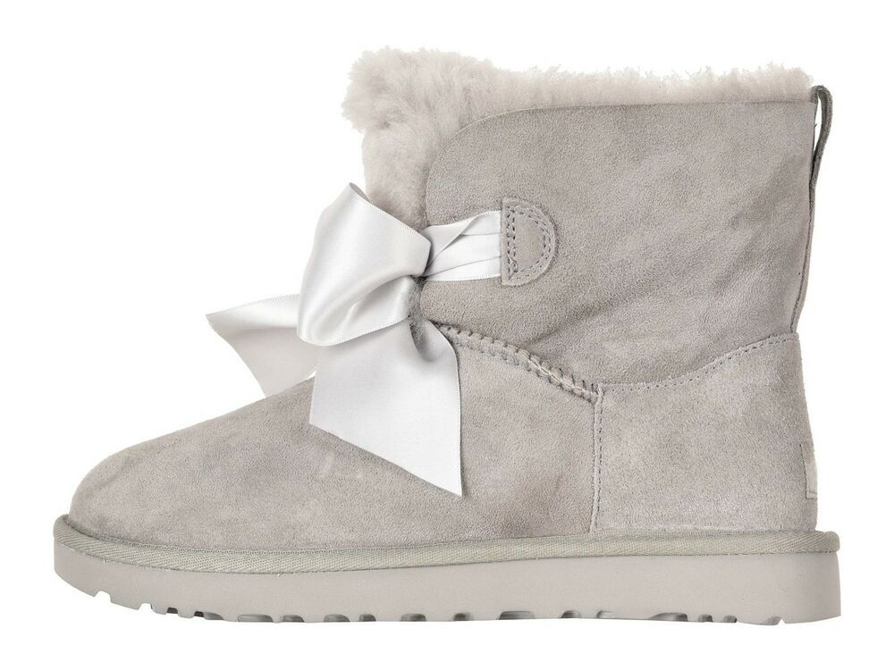 77cce2a691b Ugg Australia Womens Gita Seal Gray Mini Boots #UGGAustralia ...