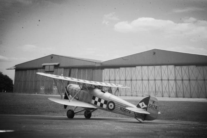 1:48 Airfix Hawker Fury I