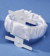 If you don't want to do a bouquet. Darice® White Satin Covered Wrist Corsage Clip