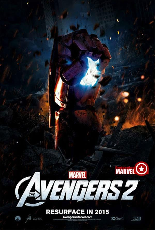 AVENGERS 2 - ...it can't come soon enough.