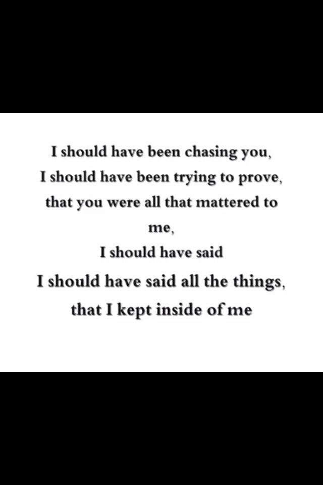 Lyrics Lady Antebellum And Maybe You Would Have Made Me Believe