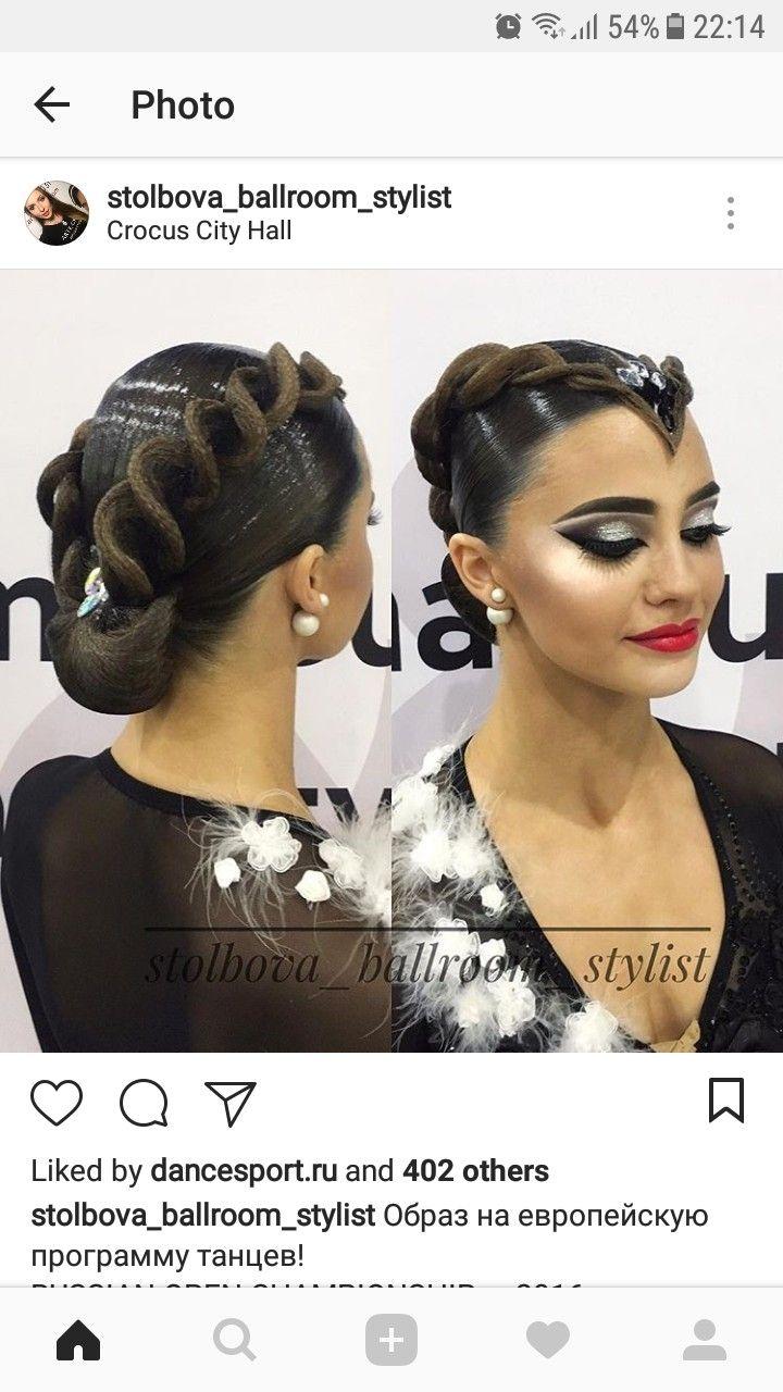 Pin by anna on ballroom hairstyles pinterest ballrooms ballroom