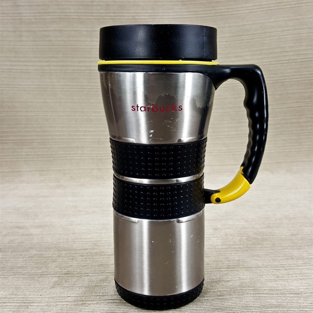 Starbuck Stainless 16oz Insulated Coffee Travel Mug Cup